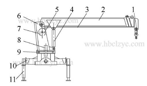 钢丝伸缩机械结构图