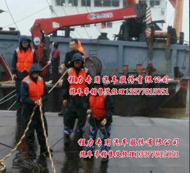 船用吊车,程力船吊,港口吊
