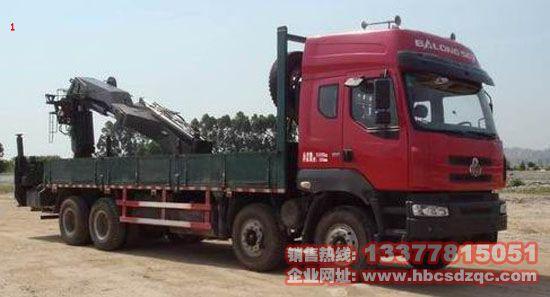 后置乘龙牌LZ5311JSQQELA随车吊国四起重运输车湖北厂家图片
