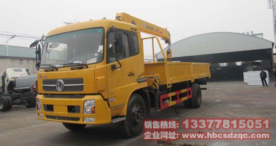 东风天锦随车吊东风牌DFL5160随车起重运输车图片
