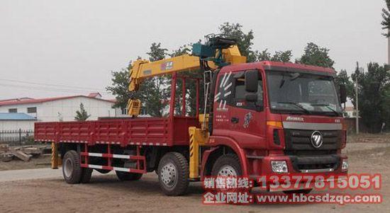 欧曼随车吊欧曼国四10吨起重运输车图片