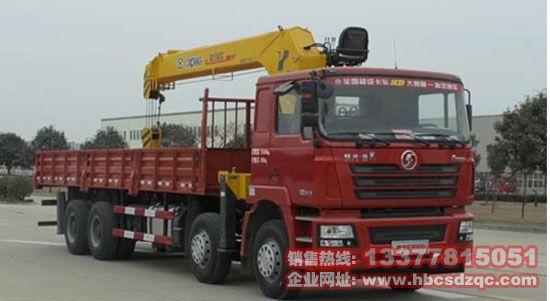 潍柴随车吊陕汽牌SX5316J随车起重运输车图片