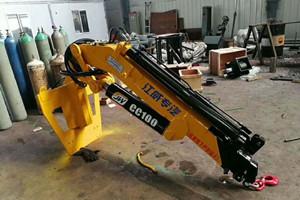 4吨叉车吊_4吨叉车飞臂吊图片