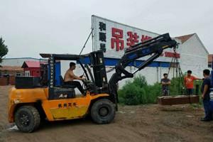 8吨叉车吊_8吨叉车飞臂吊图片