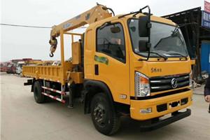 6.3吨5吨世技卡特D912随车吊图片