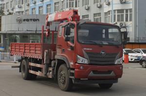6.3吨8吨福田瑞沃随车吊图片