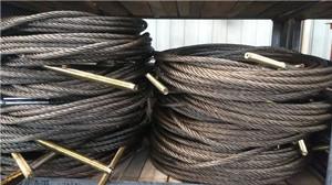钢丝绳拉索-拉大臂钢丝绳吊机配件图片