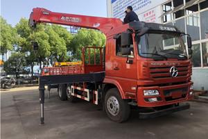 10吨程力专汽大运提升桥随车吊图片